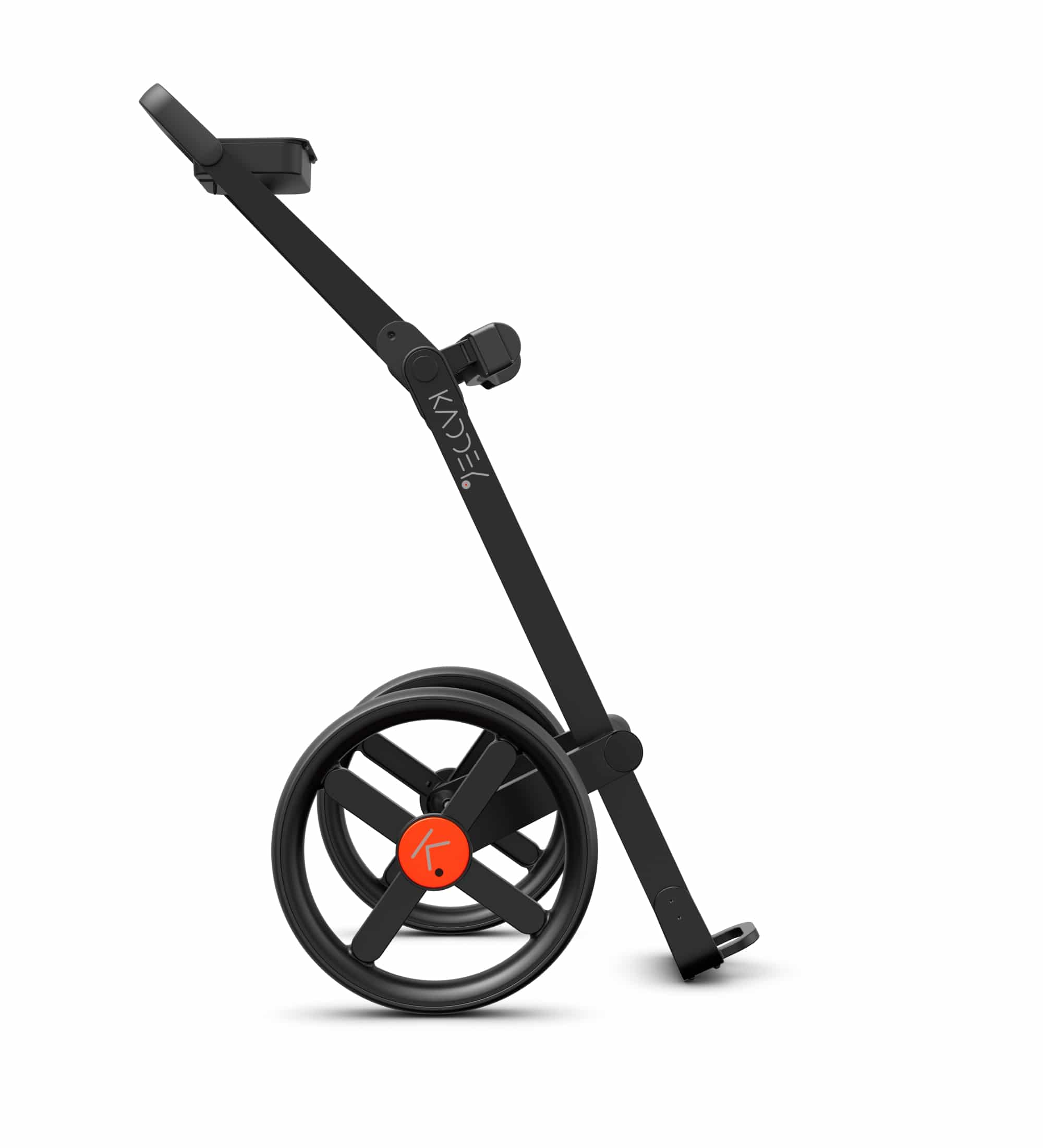 Kaddey Switch - Push pull trolley - Orange - Side